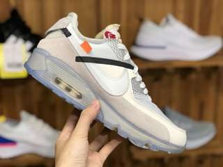 NIKE x OFF-WHITE OW AIRMAX90 OW 限量聯名氣墊跑鞋90款聯名