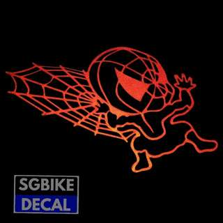 Spiderman Reflective decal