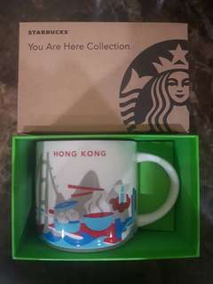 Starbucks Mug Hong Kong You Are Here