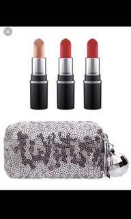 Mac limited edition snowball mini lipstick kit