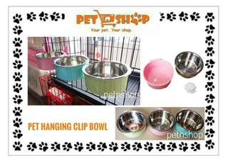 Hanging Clip Pet Bowl