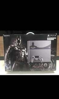 [NEW] PS4 Limited Edition Batman Design