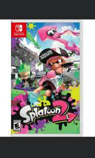 [Digital bundle of 2 games] Splatoon 2 + Fate Extella