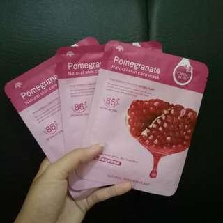 Rorec Pomegranate face mask