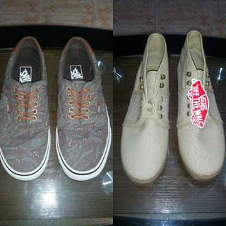 2 for 1 VANS Off the Wall Camo Paisley Low and Camryn Mid
