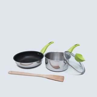 New value kitchen lime set of 3 basic