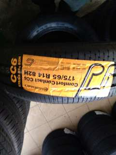 Continental CC6 Size: 175/65/14 Call/Wasapp/0126952623