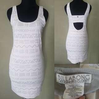 Billabong bodycon dress