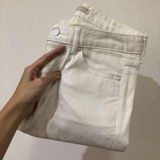 UNIQLO White Trousers