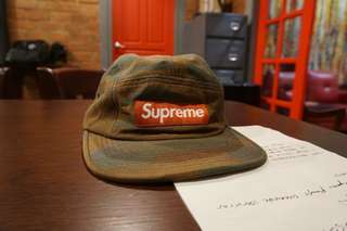 Supreme 5 Panel Hand Painted Cap