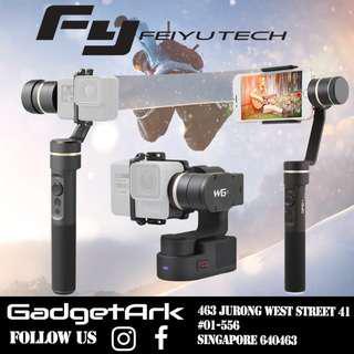 🚚 FEIYU Handheld Gimbal Vimble 2 G5 G6 for GoPro SJCAM Yi Action Camera