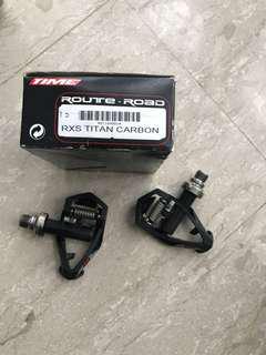 Time RXS titanium carbon pedals