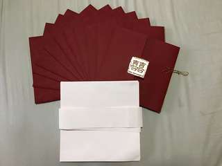 Wedding Invite Cards and Envelopes