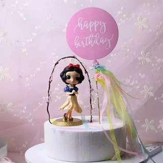 Snow White Birthday Cake Topper