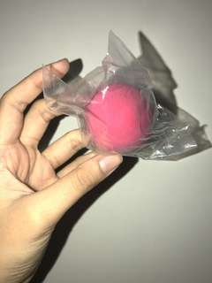 Pink beauty blender ( buy one , one free )