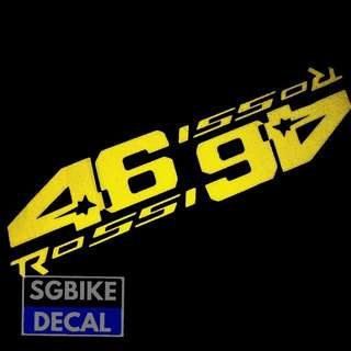 Yellow 46 Rossi Reflective