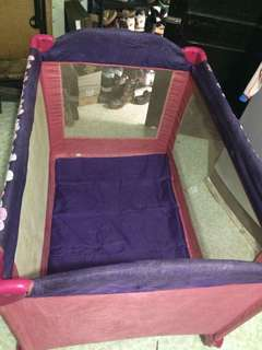 Used crib for baby girl