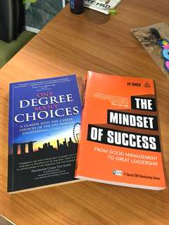 One Degree Many Choices. The Mindset of Success.