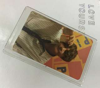 WTS BTS LOVE YOURSELF HER PHOTOCARD TAE HYUNG PC / V PC