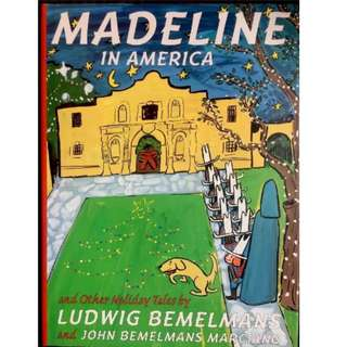 Madeline In America And Other Holiday Tales -Hardcover