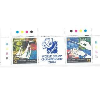 2002  10  World Stamp Championship 2004