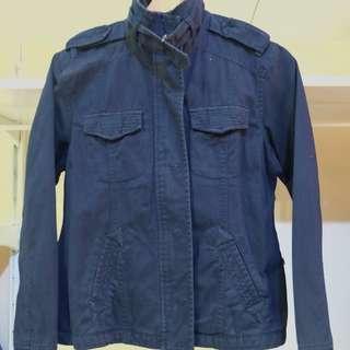 Dark Blue Jacket