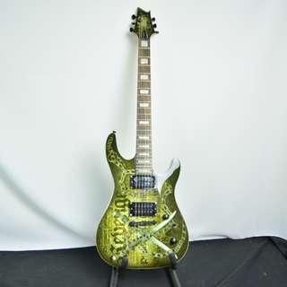 Cort Kx5-cq 彩繪 電吉他*現金收購 樂器買賣 二手樂器吉他 鼓 貝斯 電子琴 音箱 吉他收購 二手樂器