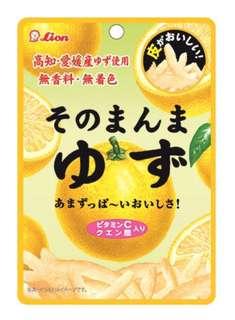 🚚 預購 日本代購 獅王 lion 糖霜 柚子皮 零食 下午茶 日本必買小零嘴 內容量:23g