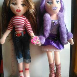 50% off Girlz Ty Dolls Punky Penny An Jammin Jenna