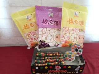 婚後物資 糖果 朱古力 Candy corner