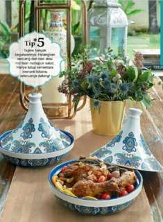Qalea by Rizalman Tagine Serving Casserole