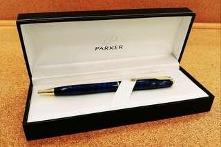 Parker藍紋筆(藍色墨)