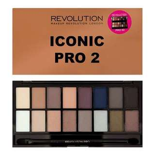 Makeup Revolution Iconic Pro 2 Eyeshadow Palette