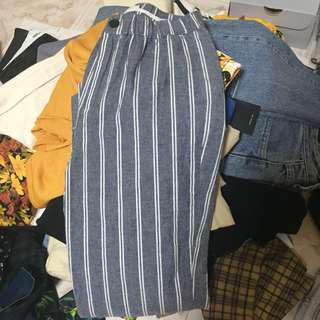BN Brandy Melville Striped Tilden Pants