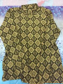 Batik Shirt Long Sleeves
