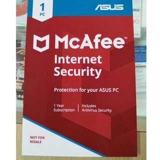 迈克菲(McAfee)互联网安全(华硕)