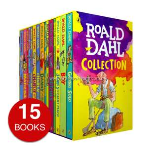 ROALD DAHL COLLECTION (15 BOOKS)