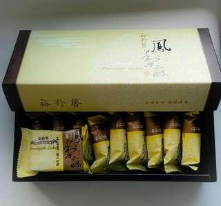台灣裕珍馨-金賞纖菓鳳梨酥10個裝