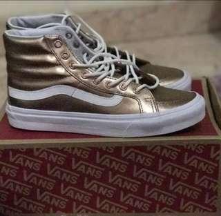VANS SKI HI - rose Gold size 39