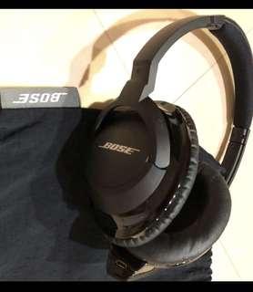 🚚 BOSE 耳罩式藍芽耳機 近全新