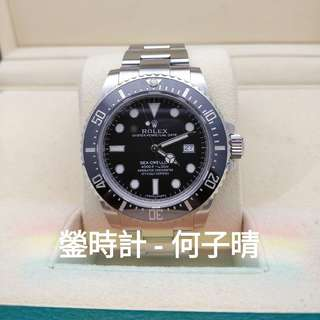 Rolex 116600 深潛SD4000  全套齊 90%新 行貨888