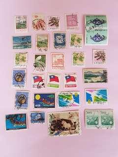 臺灣郵票29個