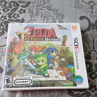 3DS Legend Of Zelda Triforce Heroes