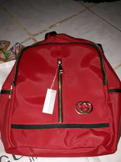 Ransel gucci red