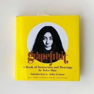 Grapefruit by Yoko Ono, conceptual art book.