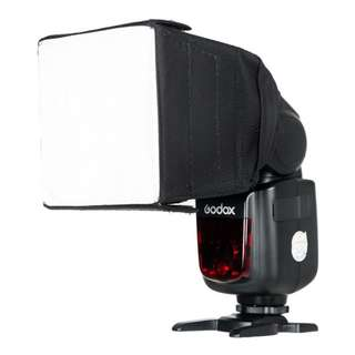 🚚 神牛 Godox 10*10 cm Flash Diffuser Flash Softbox 柔光罩 柔光箱