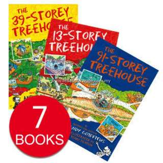 THE 13 STOREY TREEHOUSE COLLECTION (7 BOOKS)