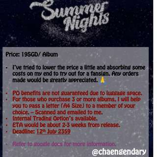 [SG GO] Twice's 2nd Special Album: Summer Nights
