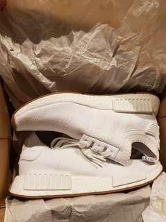 Adidas NMD R1 Primeknit White Gum Original