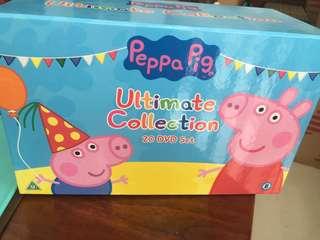 Peppa pig dvd collection set